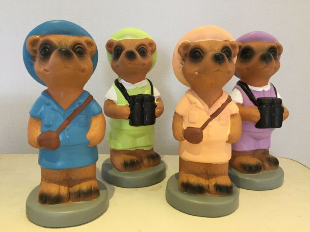 Safari Sightseeing Meerkat Money Bank